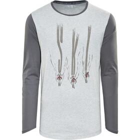 Maloja JackM. Langærmet T-shirt Herrer, charcoal